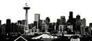 Patriotic Seattle Print by Benjamin Yeager
