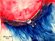 Patriotic Paintings - Patriotic by Shanna Stott