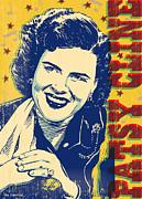 Patsy Cline Pop Art Print by Jim Zahniser