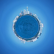 Fisheye Prints - Pattaya World Print by Atiketta Sangasaeng