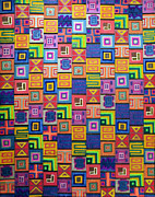 Repetition Drawings - Pattern and Color study by Megan Dirsa-DuBois