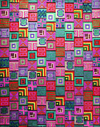Repetition Drawings - Pattern and Color study3 by Megan Dirsa-DuBois