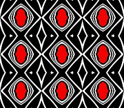 Drinka Mercep - Pattern Geometric Black...
