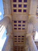 """william Howard Taft""  Posters - Patterned Ceiling on President McKinley Memorial  Poster by Matthew Peek"