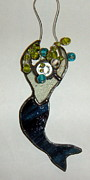 Mermaid Glass Art - Patty by Nora Solomon
