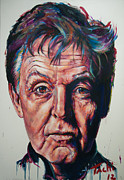 Paul Mccartney Painting Originals - Paul - 2 by Tachi Pintor
