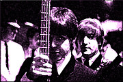 Mccartney Digital Art - Paul and John by Digital  Hiccup