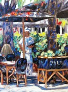 Restaurant Prints Framed Prints - Paul Bakery Framed Print by Danielle  Perry