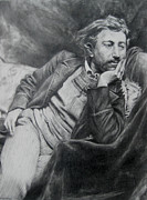 Paul Gauguin Drawings - Paul Gauguin by Lulu Hedrick