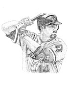 Batting Mixed Media - Paul Konerko by Joe Rozek
