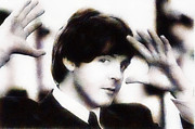 Beatles Digital Art - Paul Mc Cartney by Riccardo Zullian