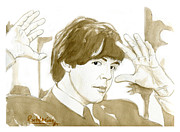 Paul Mccartney Portrait Paintings - Paul McCartney by David Iglesias
