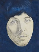 Paul Drawings - Paul McCartney by Kean Butterfield