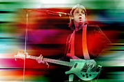 Paul Mccartney Then And Now Print by Marvin Blaine