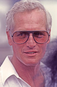 Paul Newman 1925 - 2008 Print by Mike Flynn