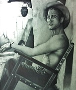 Carl Baker Art - Paul Newman by Carl Baker