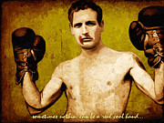 Hollywood Legend Prints - Paul Newman Cool Hand Luke  Print by Dancin Artworks
