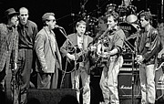 Paul Simon And Friends Print by Chuck Spang