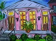 Mardi Gras Paintings - Pauls House by Mary DeSilva