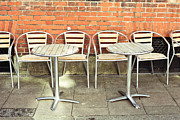 Al Fresco Photo Framed Prints - Pavement cafe Framed Print by Tom Gowanlock