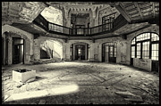 Interior Pyrography - Pavilion Central by Julien Oncete