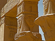 Hathor Digital Art Metal Prints - Pavilion of Nectanebo I Dedicated to Hathor on Philae Island Metal Print by Ruth Hager