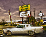 Pawn - Pool - Massage Print by Gregory Dyer