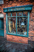 Brickwork Prints - Pawnbrokers Shop Print by Adrian Evans