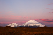 James Brunker - Payachatas volcanos at...