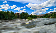 River Flooding Framed Prints - Payette River Framed Print by Robert Bales