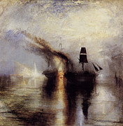 Romanticism Posters - Peace 1842 Poster by Joseph Mallord William Turner
