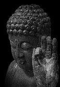 The Buddha Metal Prints - Peace Be With You Metal Print by Daniel Hagerman