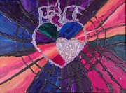 3.14 Painting Posters - Peace Poster by Christine Nichols