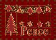 Vickie Emms - Peace Christmas Greeting...