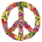Aleksandr Volkov - Peace flower symbol