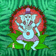 Peter Barreda - Peace Ganesh Dancing
