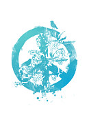 Peace Digital Art Metal Prints - Peace grows Metal Print by Budi Satria Kwan