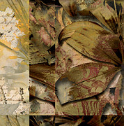 Turning Leaves Mixed Media Prints - Peace II Print by Yanni Theodorou