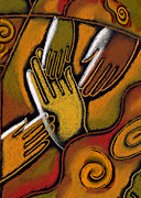 African Art Art - Peace by Leon Zernitsky