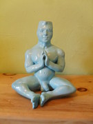 Young Man Sculpture Prints - Peace  Print by Michael Flynt