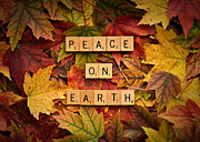 Daniel Framed Prints - PEACE ON EARTH-Autumn Framed Print by  Onyonet  Photo Studios
