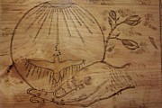 World Peace Pyrography - Peace on Earth by JJ Oosthuizen