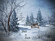 Peace Digital Art - Peace On Earth by Lianne Schneider