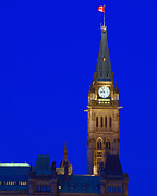 Hill Town Framed Prints - Peace Tower Framed Print by Tony Beck
