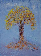 Pallet Knife Prints - Peace Print by William Killen