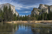 Sandra Bronstein Photo Posters - Peaceful Afternoon in Yosemite Poster by Sandra Bronstein