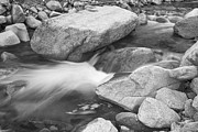 James BO  Insogna - Peaceful Flowing Water in Black and White