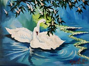 Peaceful Life Print by Anjanita Das