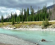 Gail Matthews - Peaceful Mountain Green River Flow