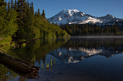 Mount Photos - Peaceful Mountain Serenity by Mike Reid